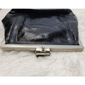 HOBO Bags - Hobo Black Leather Wristlet Clutch